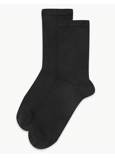 Marks & Spencer 2'l Heatgen™ Termal Çorap Seti Siyah